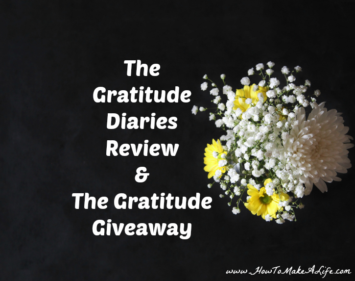 The Gratitude Diaries Book Review and Giveaway