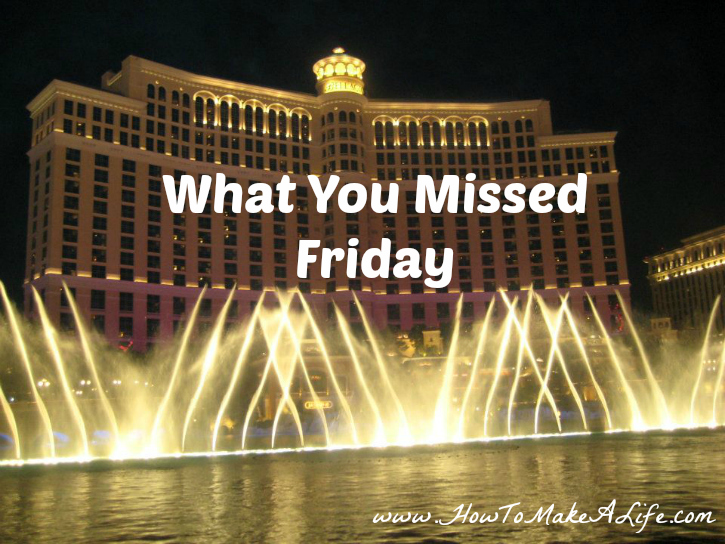 What you missed for the week of April 11, 2016