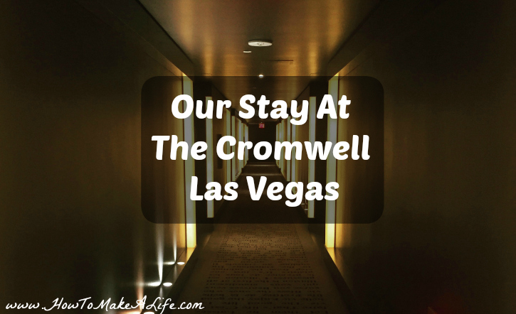 Sharing our recent stay at Las Vegas' only boutique hotel - The Cromwell