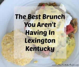 The Sage Rabbit: The Best Brunch You Aren't having in Lexington KY