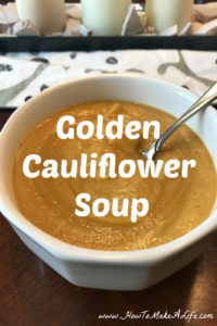 Golden Cauliflower Soup